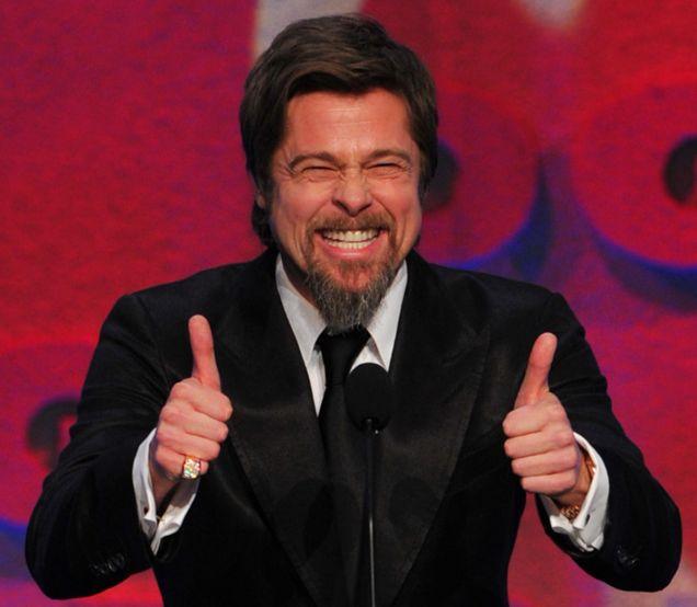 Brad Pitt Approves