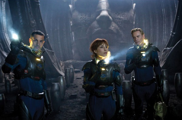 Prometheus - Fassbender and Rapace