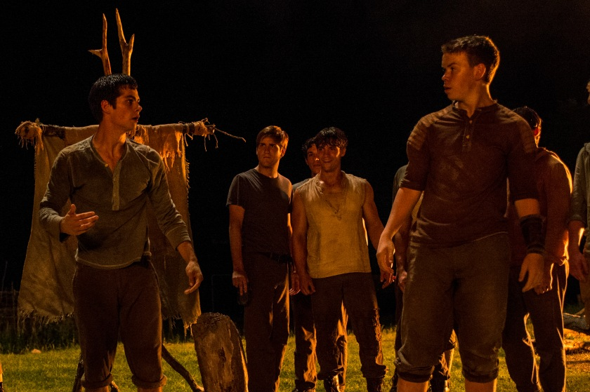 The Maze Runner - Dylan O'Brien and Will Poulter