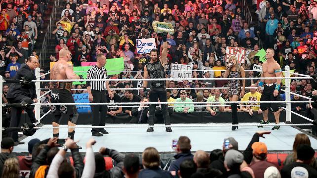 Rumble - WWE title