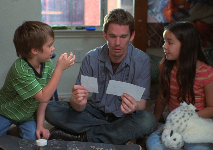 Boyhood - Ethan Hawke Ellar Coltrane & Lorelei Linklater