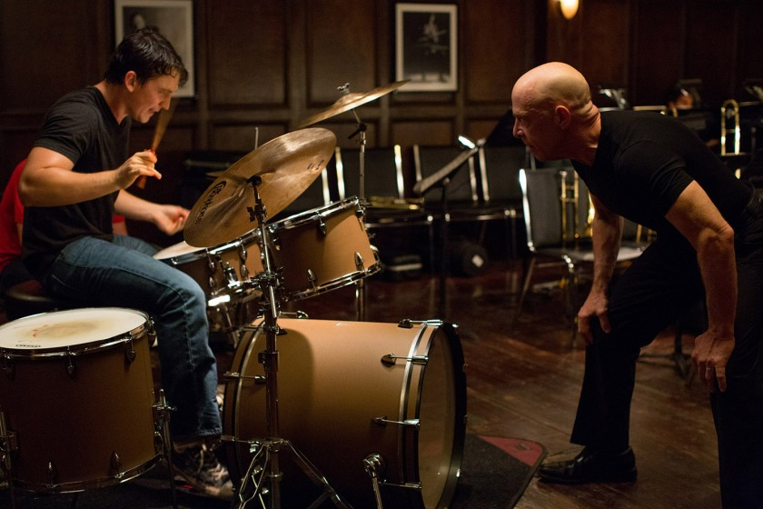 Whiplash - Teller and Simmons