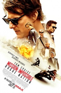 Mission Impossible - Rogue Nation Poster