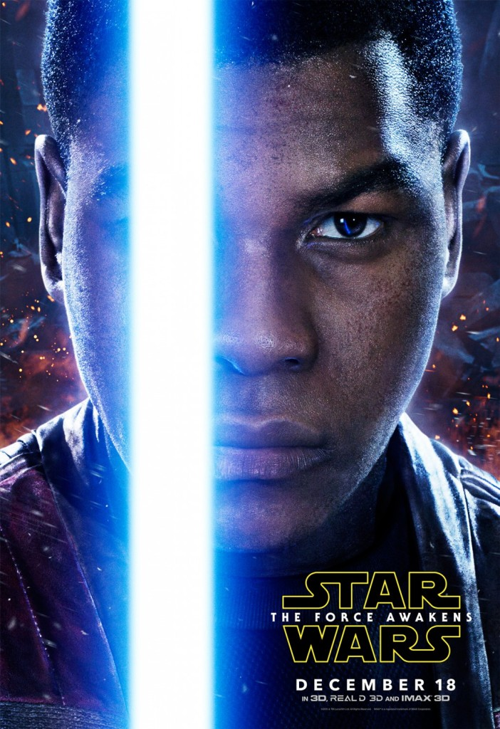Star Wars The Force Awakens Poster Finn
