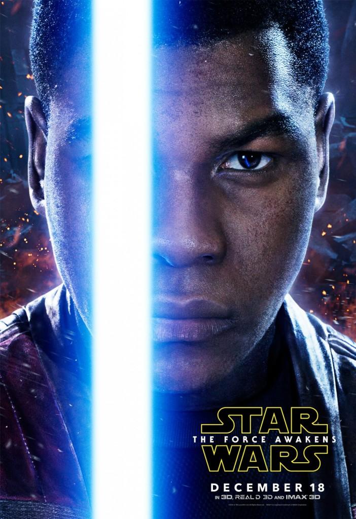 Star Wars The Force Awakens Poster Finn