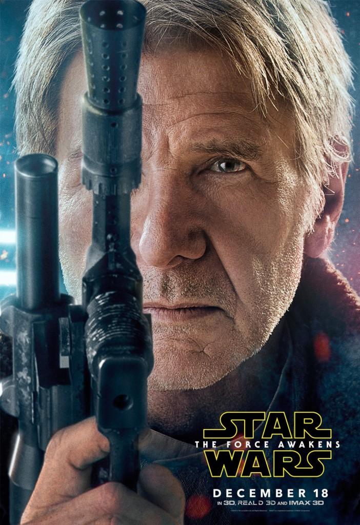 Star Wars The Force Awakens Poster Han