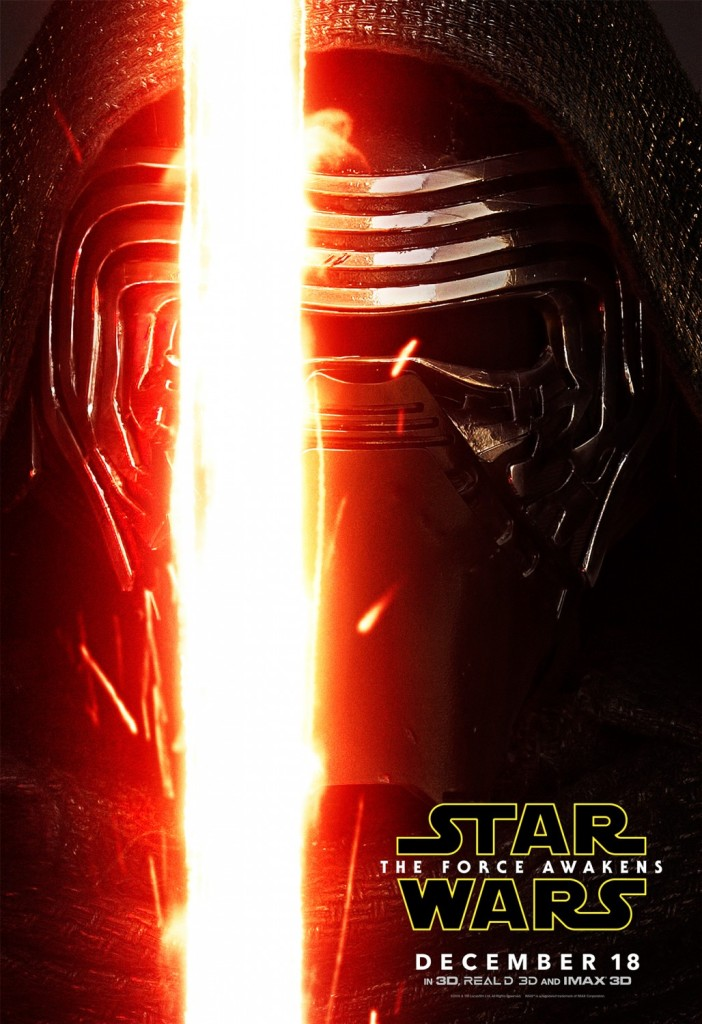 Star Wars The Force Awakens Poster Kylo