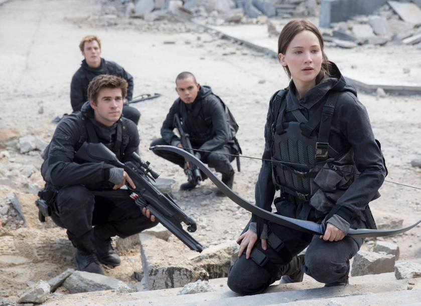 The Hunger Games Mockingjay Part 2 - Katniss & Gale