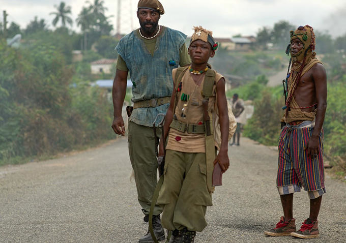 Beasts of No Nation - Elba & Attah