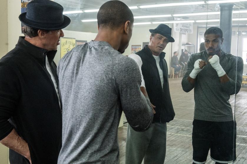 Creed - Sylvester Stallone & Michael B. Jordan