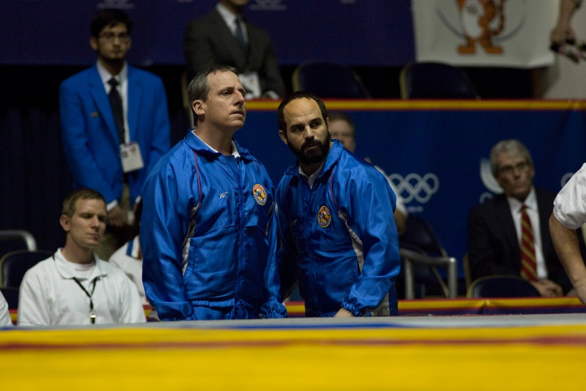 Foxcatcher - Carell & Ruffalo