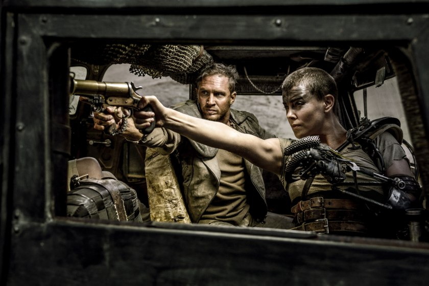 Mad Max: Fury Road - Hardy and Theron