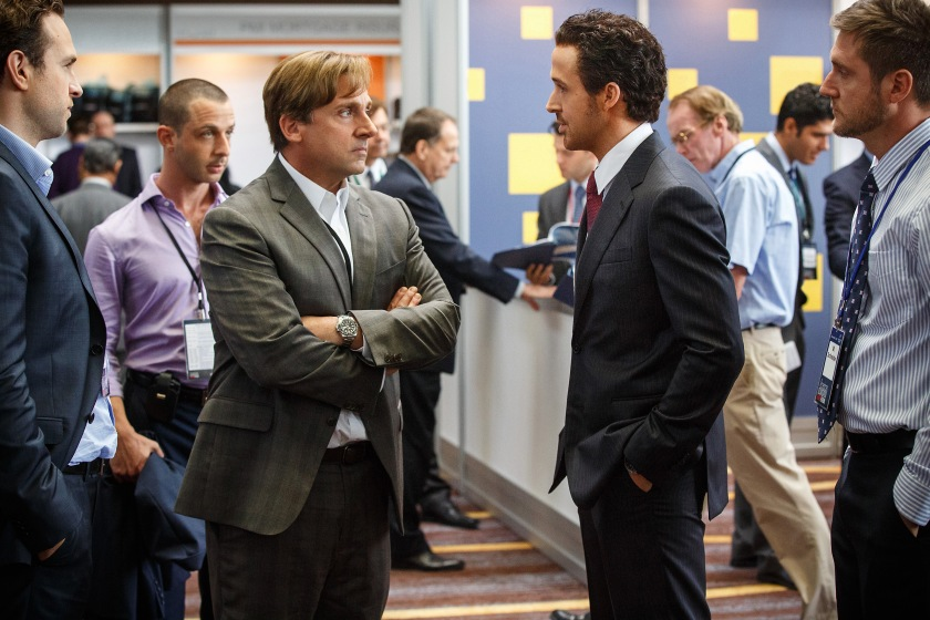 The Big Short - Steve Carell & Ryan Gosling