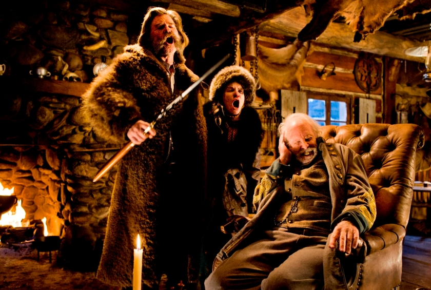 The Hateful Eight - Kurt Russell, Jennifer Jason Leigh & Bruce Dern