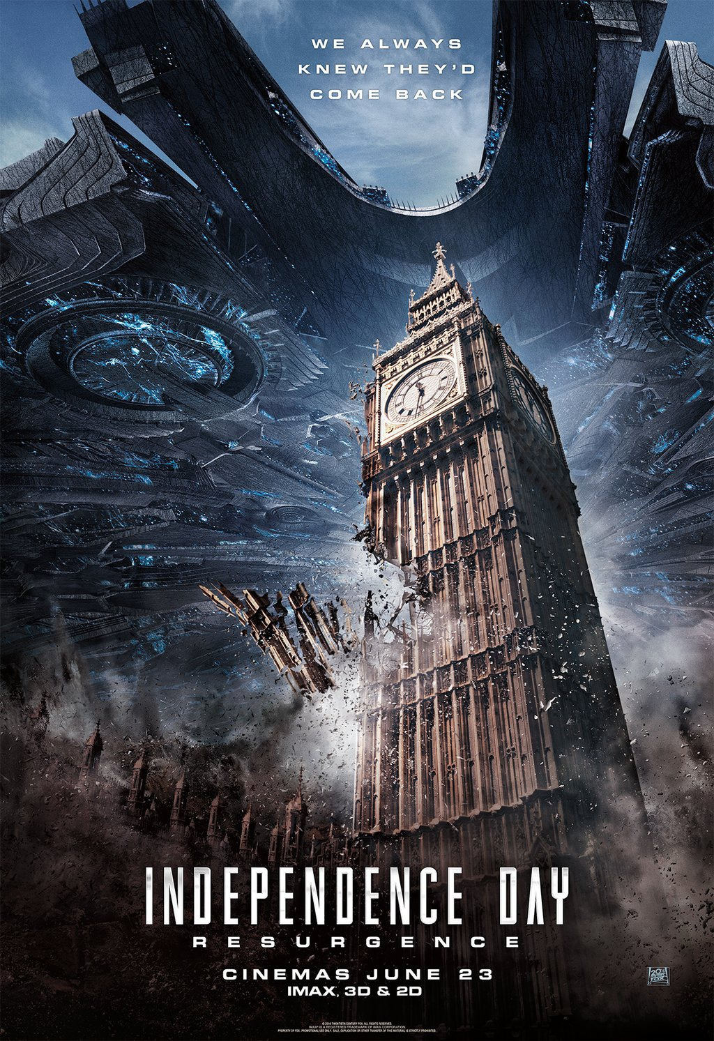 Independence Day Resurgence 2016 Consumed By Film