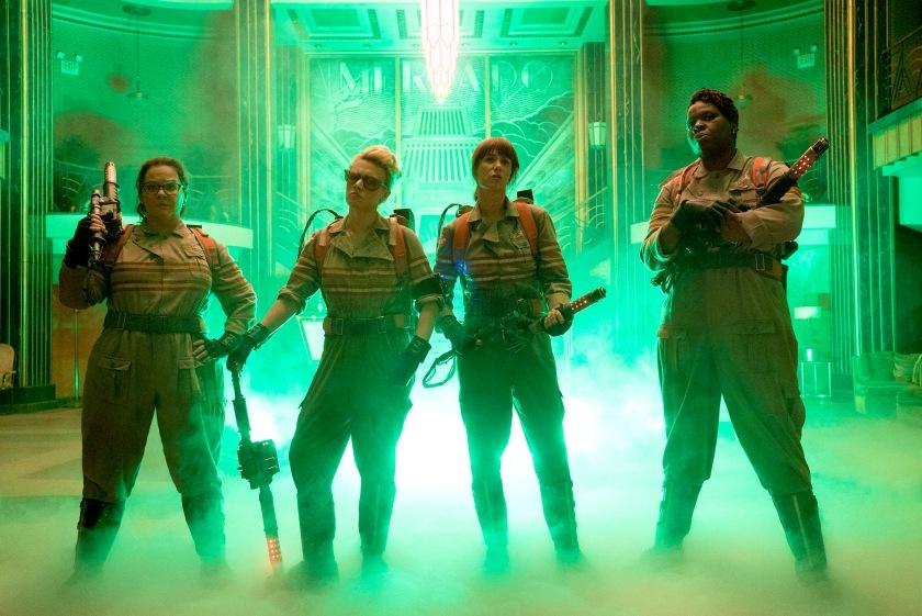 Ghostbusters - Melissa McCarthy, Kristen Wiig, Kate McKinnon & Leslie Jones
